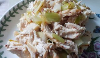portion-chicken-and-leek-on-a-plate