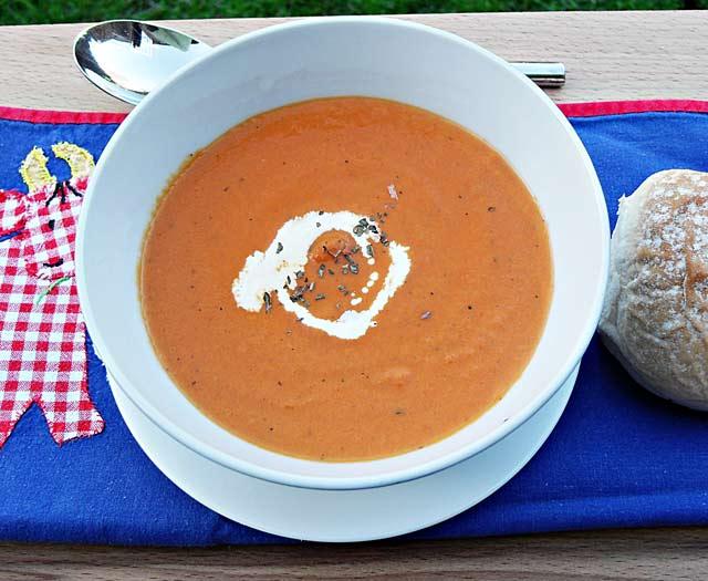 Camilla's Cream of Tomato Soup