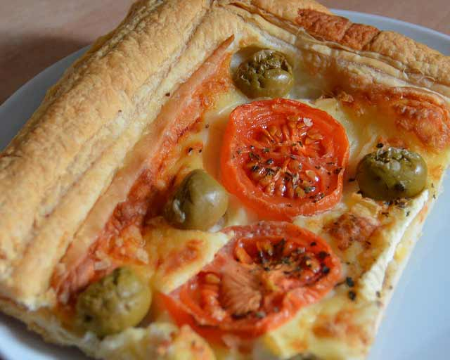 Brie And Tomato Tart