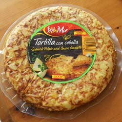 Tortilla With Onion