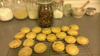 Ted's Special Cranberry Mince Pies