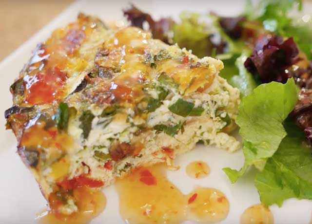 Fully Loaded Vegetable Frittata