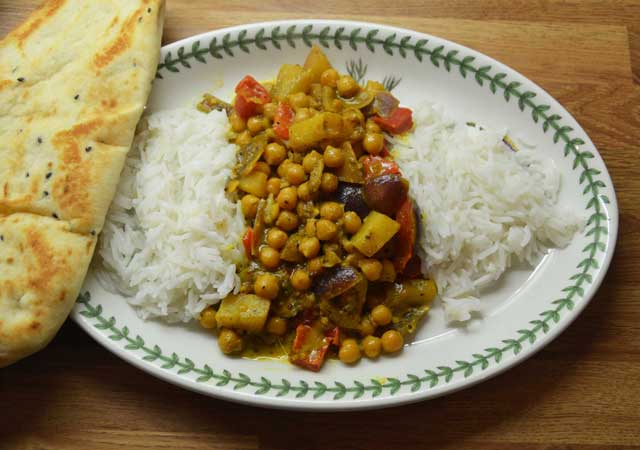 Easy Chickpea Curry With Schwartz