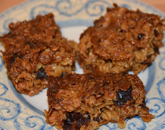 three-flapjacks-with-dates on plates