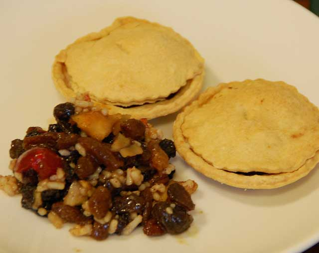 mince pies with mincemeat