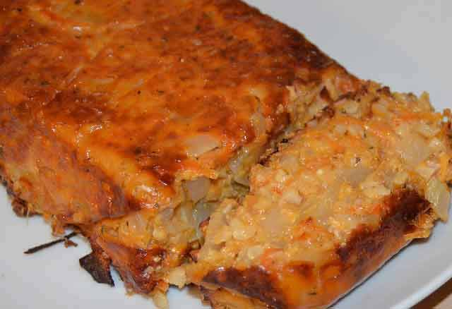 Vegetarian alternative to meat roast-this nut roast recipe is delicious