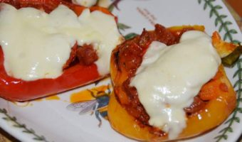 stuffed-peppers-chorizo-on-plate
