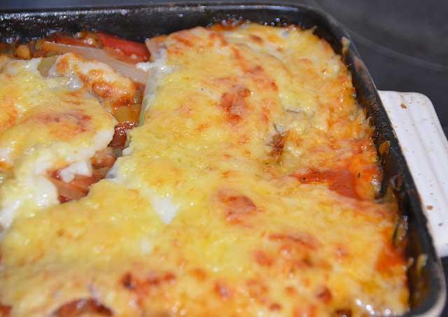 Vegetarian Wheat free lasagna recipe