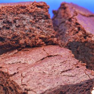 three-brownie-squares-on-a-plate